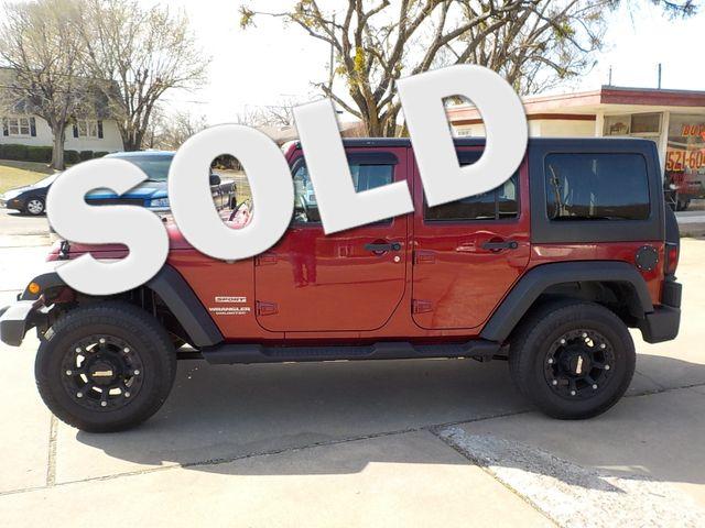 2013 Jeep Wrangler Unlimited Sport Fayetteville , Arkansas