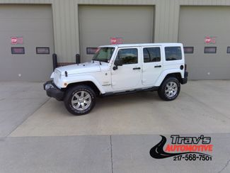 2013 Jeep Wrangler Unlimited Sahara in Gifford, IL 61847