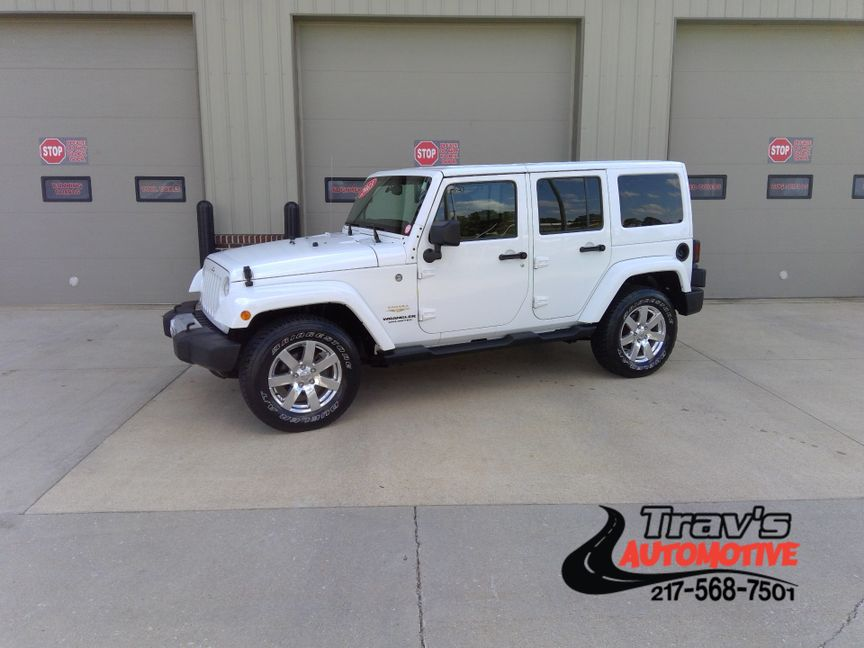 2013 Jeep Wrangler Unlimited Sahara City Il Trav S Automotive