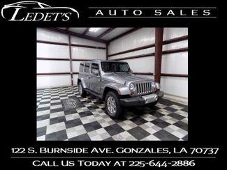 2013 Jeep Wrangler Unlimited Sahara - Ledet's Auto Sales Gonzales_state_zip in Gonzales