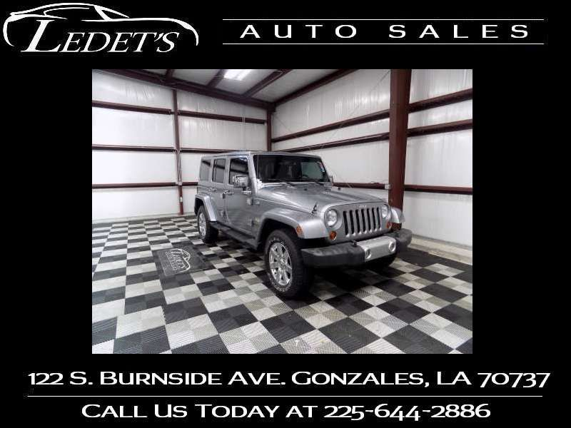 2013 Jeep Wrangler Unlimited Sahara - Ledet's Auto Sales Gonzales_state_zip in Gonzales Louisiana