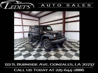 2013 Jeep Wrangler Unlimited Sport - Ledet's Auto Sales Gonzales_state_zip in Gonzales