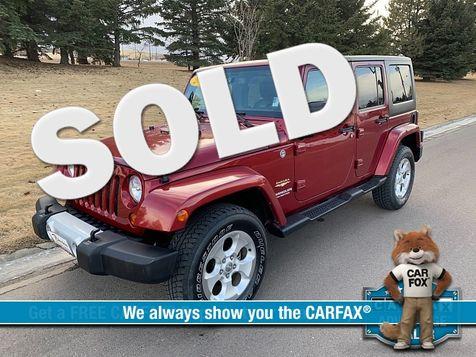 2013 Jeep Wrangler Unlimited 4d Convertible Sahara in Great Falls, MT
