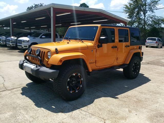 2013 Jeep Wrangler Unlimited Sahara Houston, Mississippi 1