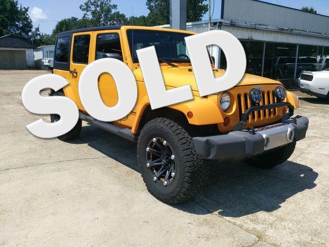 2013 Jeep Wrangler Unlimited Sahara Houston, Mississippi
