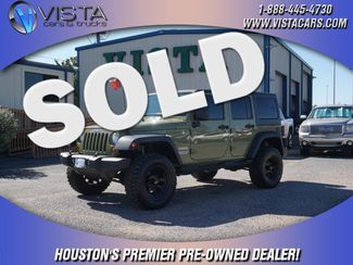 2013 Jeep Wrangler Unlimited Sport  city Texas  Vista Cars and Trucks  in Houston, Texas