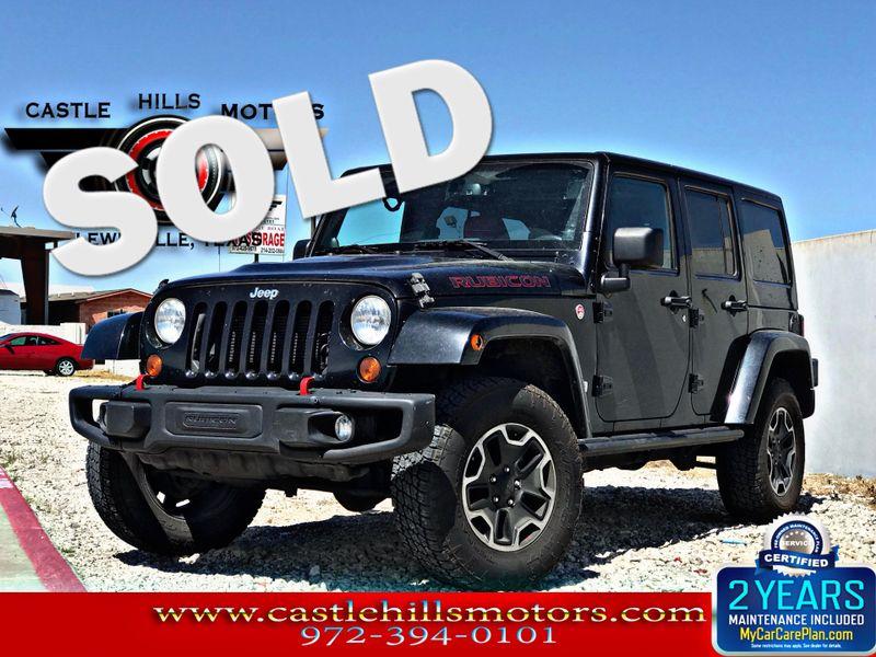 2013 Jeep Wrangler Unlimited Rubicon 10th Anniversary | Lewisville, Texas |  Castle Hills Motors