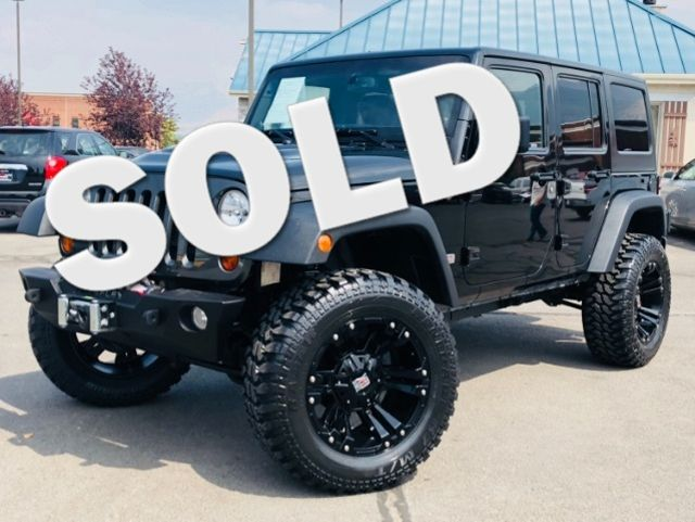 2013 Jeep Wrangler Unlimited Rubicon 10th Anniversary LINDON, UT