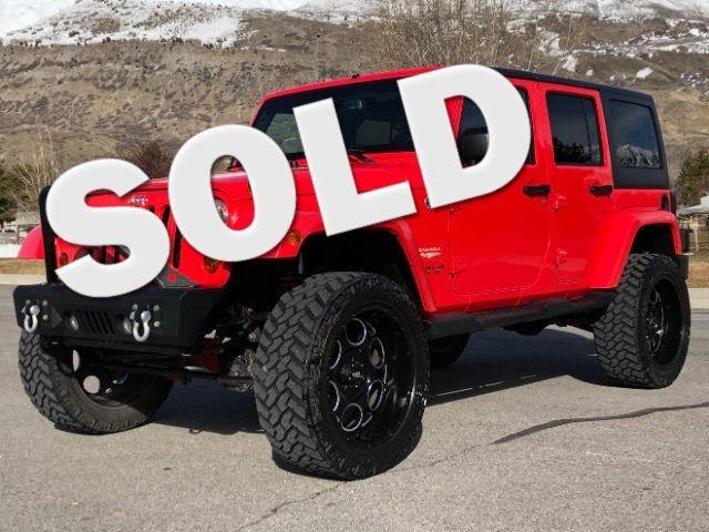 2013 Jeep Wrangler Unlimited Sahara LINDON, UT