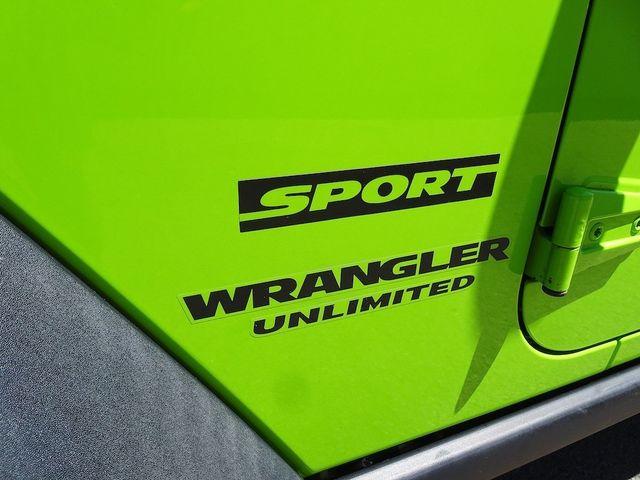 2013 Jeep Wrangler Unlimited Sport RHD Madison, NC 12