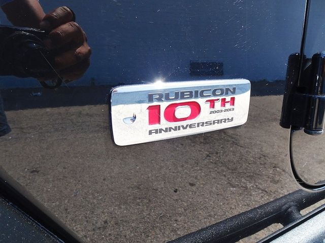 2013 Jeep Wrangler Unlimited Rubicon 10th Anniversary Madison, NC 15