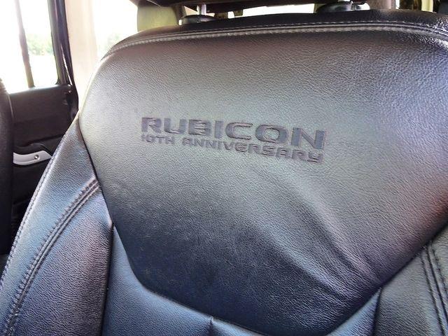 2013 Jeep Wrangler Unlimited Rubicon 10th Anniversary Madison, NC 32