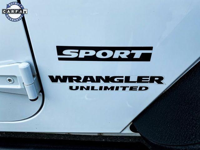 2013 Jeep Wrangler Unlimited Sport RHD Madison, NC 10