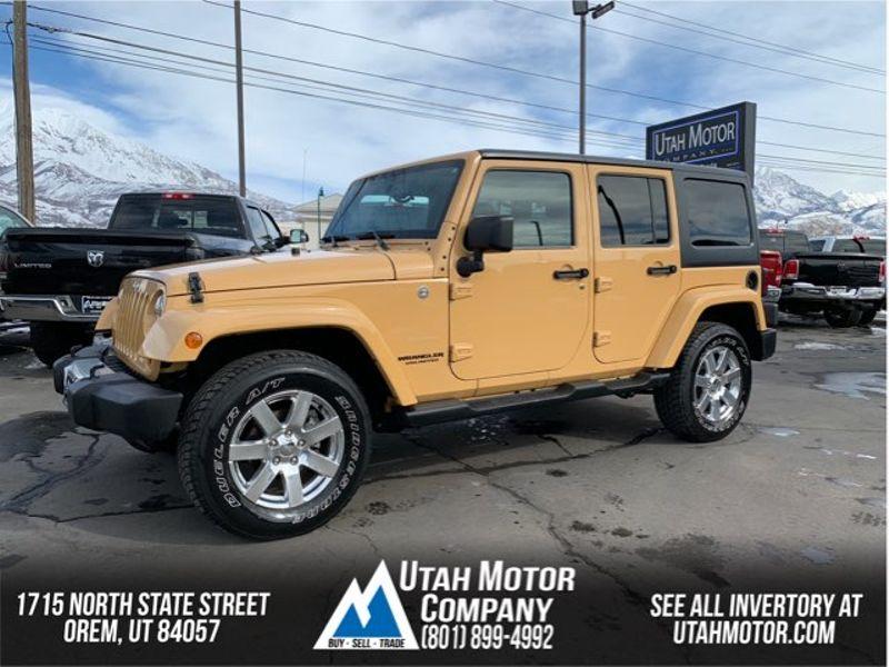 2013 Jeep Wrangler Unlimited Sahara | Orem, Utah | Utah Motor Company in Orem Utah