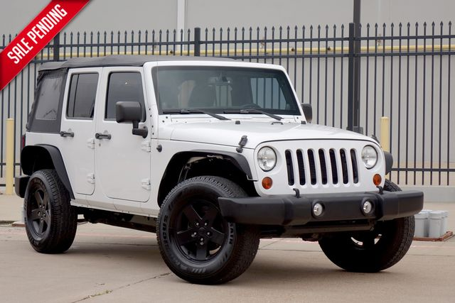 2013 Jeep Wrangler Unlimited Sport*4x4*Auto*Soft Top* | Plano, TX | Carrick's Autos in Plano TX