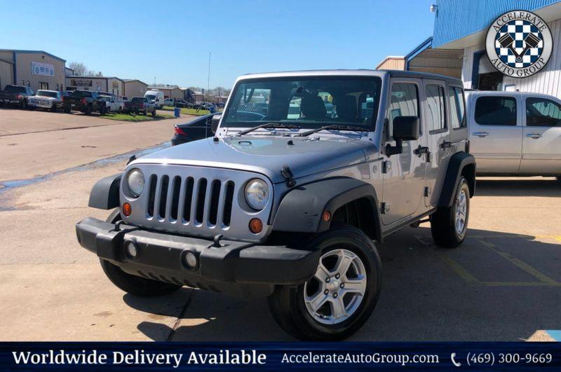 2013 Jeep Wrangler Unlimited RHD AUTO TRANS CLEAN CARFAX 4X4 GD SERVICE HISTORY in Rowlett Texas