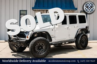 2013 Jeep WRANGLER UNLIMITED 3.6L V6, SAHARA 4X4,LTHR, BODY-COLOR 3PC HARDTOP in Rowlett