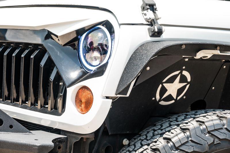 2013 Jeep WRANGLER UNLIMITED 3.6L V6 SAHARA 4X4 LTHR BODY-COLOR 3PC HARDTOP in Rowlett, Texas