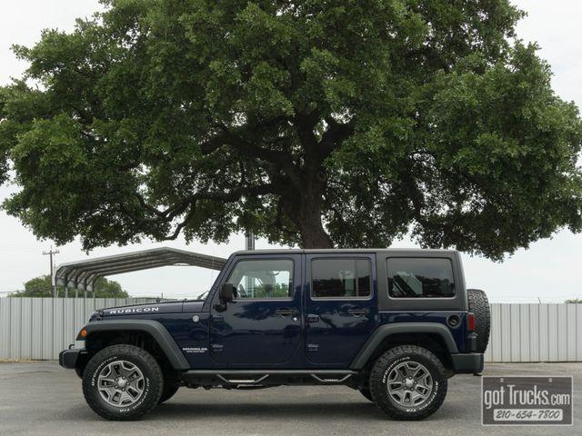 2013 Jeep Wrangler Unlimited Rubicon 3.6L V6 4X4