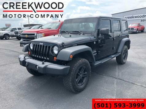 2013 Jeep Wrangler Unlimited Sport 4x4 Black Hardtop Auto All Power 1Owner NICE in Searcy, AR