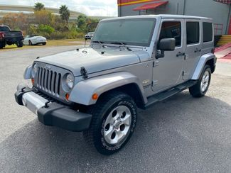2013 Jeep Wrangler Unlimited SAHARA LEATHER HARDTOP NAV HEATED SEATS   Florida  Bayshore Automotive   in , Florida