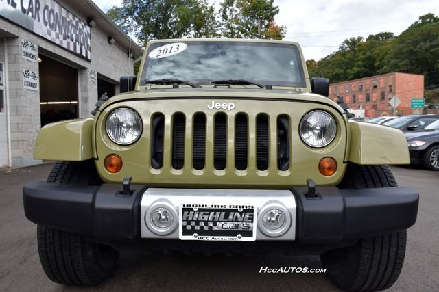 2013 Jeep Wrangler Unlimited Sahara Waterbury, Connecticut 8
