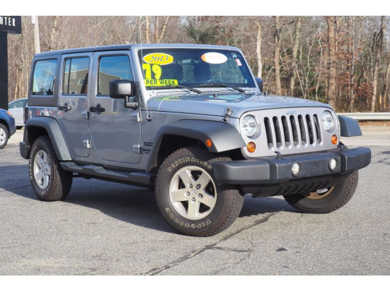 2013 Jeep Wrangler Unlimited Sport | Whitman, Massachusetts | Martin's Pre-Owned