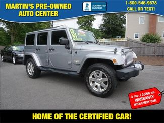 2013 Jeep Wrangler Unlimited Sahara in Whitman, MA 02382