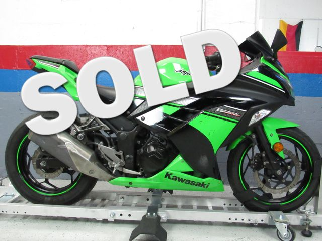 2013 Kawasaki Ninja 300 Special Edition in Dania Beach , Florida 33004