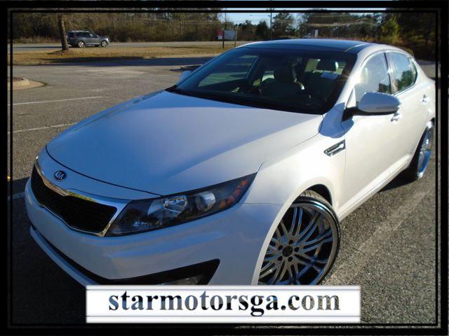 2013 Kia Optima EX with Panaromic Sunroof, 22 Inch Wheels