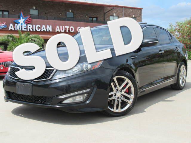 2013 Kia Optima SX w/Limited Pkg | Houston, TX | American Auto Centers in Houston TX