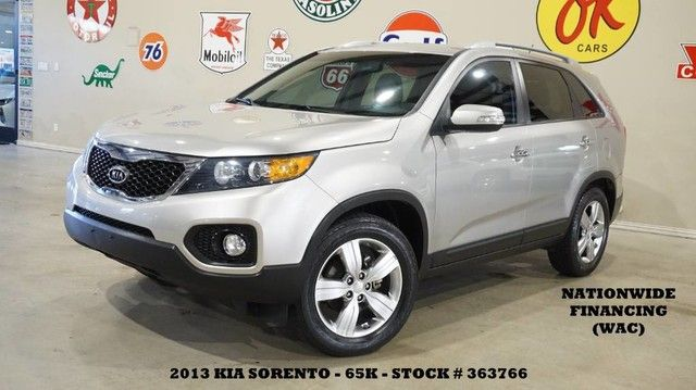 2013 Kia Sorento EX BACK-UP CAM,HEATED LEATHER,PARK SENSORS,65K,...