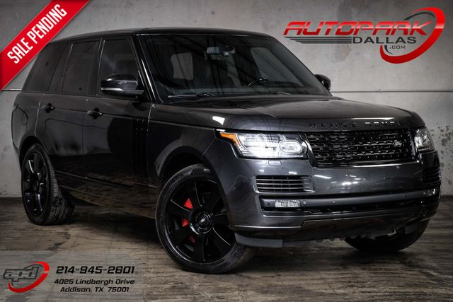 2013 Land Rover Range Rover Super Charged CPO