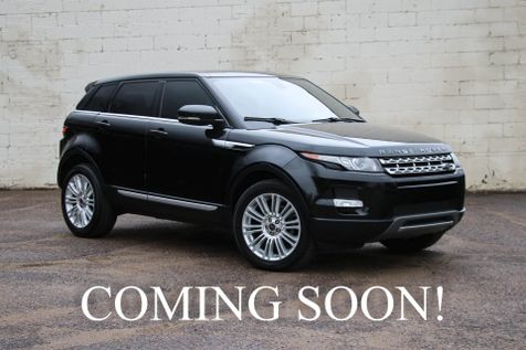 2013 Land Rover Range Rover Evoque Prestige AWD Crossover w/Navigation, Panoramic Roof & DUAL DVD in Eau Claire