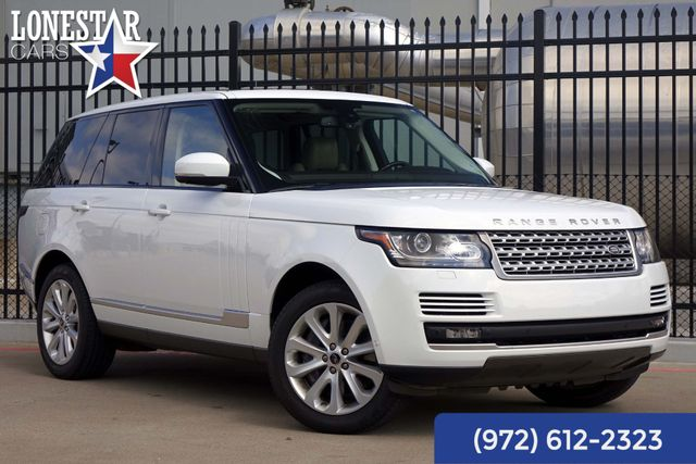 2013 Land Rover Range Rover Vision Assist HSE Clean Carfax One Owner