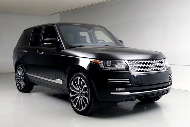 2013 Land Rover Range Rover SC* Autobiography* Executive Seating*** | Plano, TX | Carrick's Autos in Plano TX