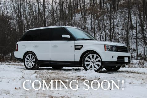 2013 Land Rover Range Rover Sport HSE 4x4 Luxury SUV w/Navigation, Heated Seats, Harman/Kardon Audio & 20-Inch Wheels in Eau Claire