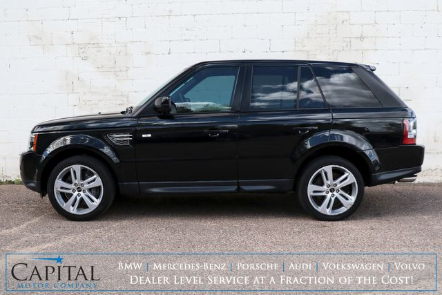 2013 Land Rover Range Rover Sport Supercharged 4x4 w/510HP V8, Air Suspension, Nav, Moonroof and Premium Audio in Eau Claire, Wisconsin 54703