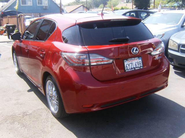 2013 Lexus CT 200h Hybrid Los Angeles, CA 8