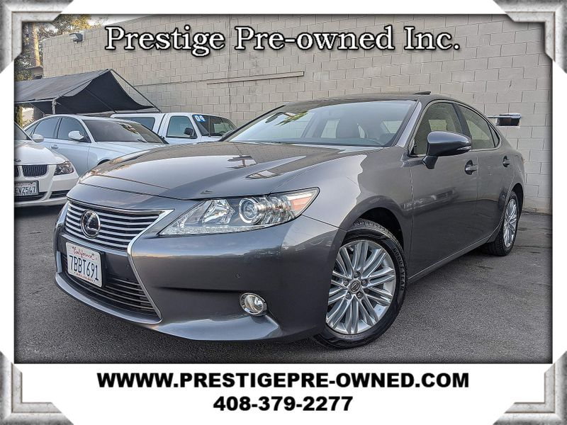 2013 Lexus ES 350 4dr SDN (*NAVI & BACK UP CAM-HEAT SEAT-MOONROOF*)  in Campbell CA