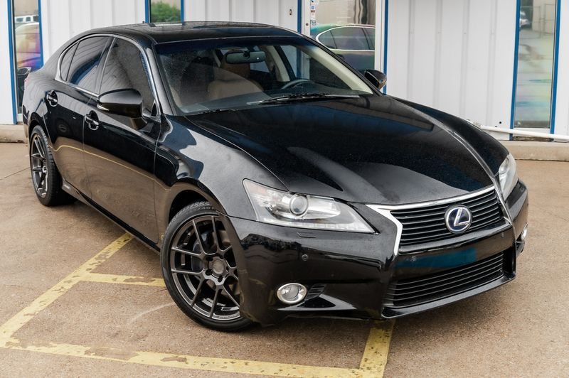 2013 Lexus GS 450h Hybrid NAV/LEATHER/SUNROOF/PREMIUM PKG/BT/ CSTM RIMS in Rowlett, Texas