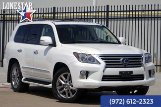 2013 Lexus LX 570 Luxury Package One Owner Clean Carfax in Plano Texas, 75093