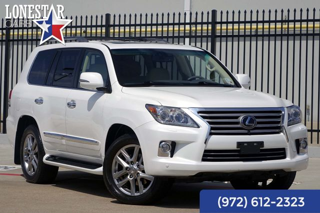 2013 Lexus LX 570 Luxury Package One Owner Clean Carfax