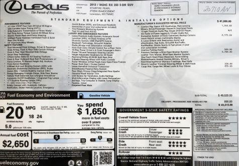 2013 Lexus RX350 AWD in Alexandria, VA