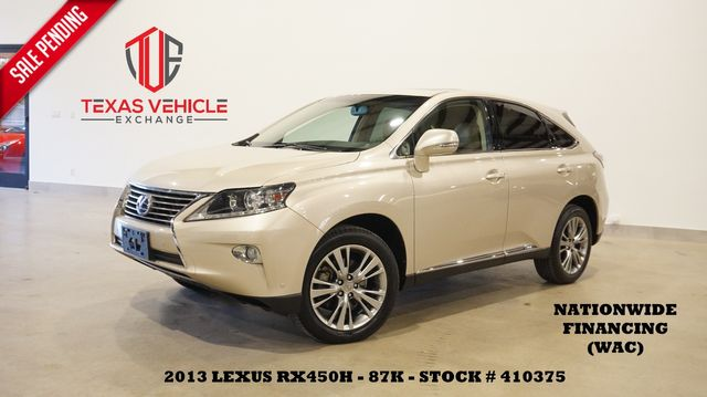2013 Lexus RX 450h SUNROOF,NAV,BACK-UP CAM,HTD/COOL LTH,87K