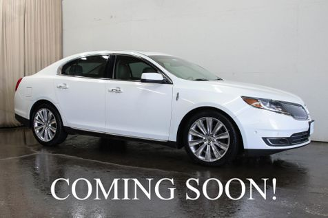 2013 Lincoln MKS EcoBoost AWD Luxury Car w/Elite Package, Navigation, Park Assist, Panoramic Roof & 20