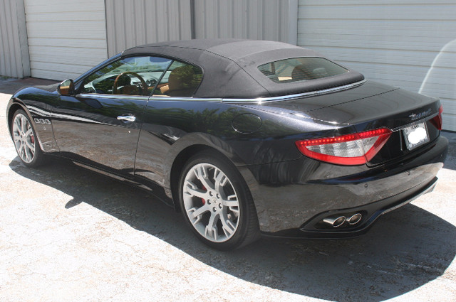 2013 Maserati GranTurismo Convertible Houston, Texas 3