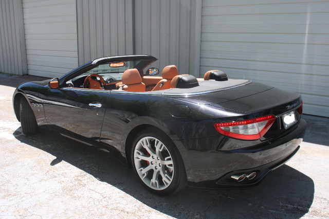 2013 Maserati GranTurismo Convertible Houston, Texas 6