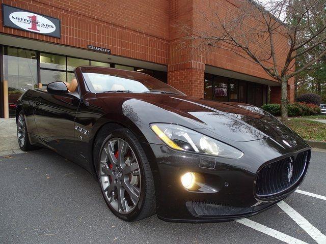 2013 Maserati GranTurismo Convertible Sport