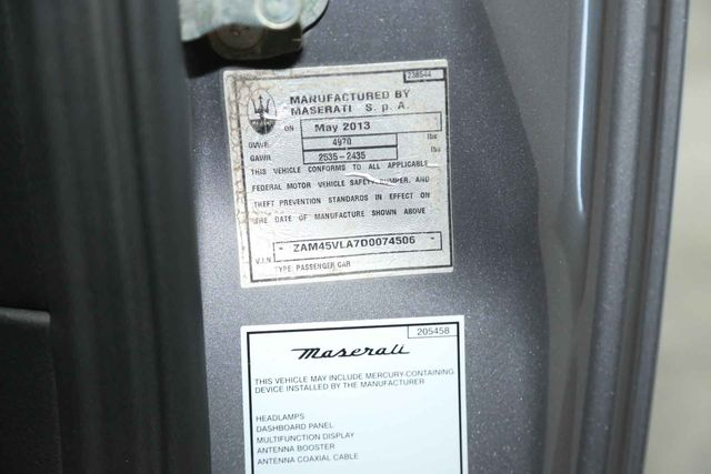 2013 Maserati GranTurismo Sport Houston, Texas 27